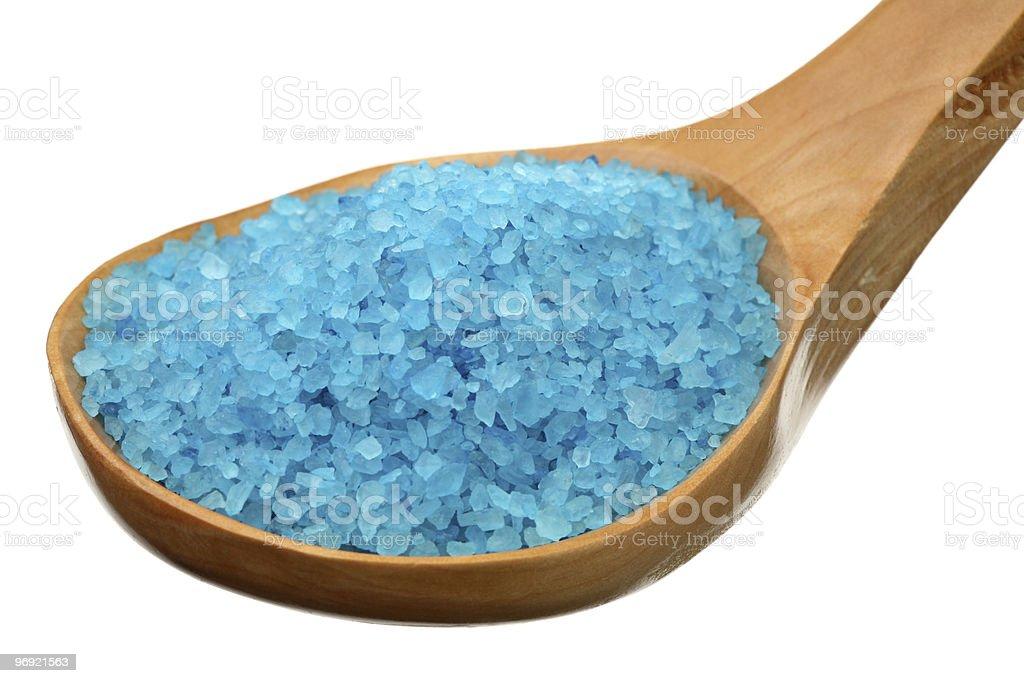 Sea salt for baths royalty-free stock photo