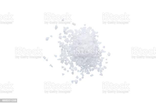 scattering of sea salt