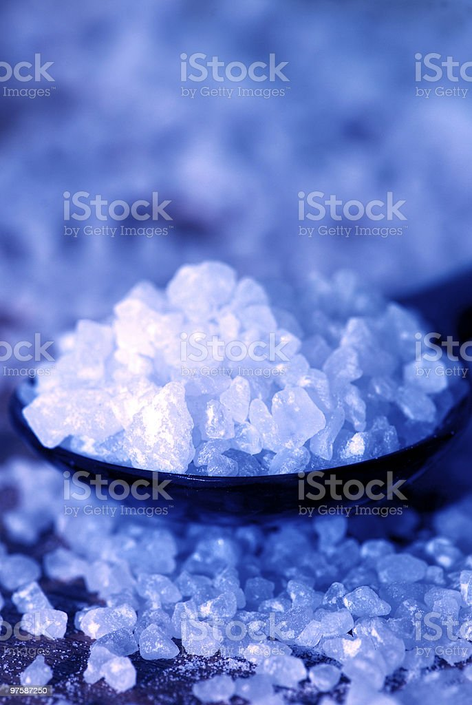 Sea Salt royaltyfri bildbanksbilder