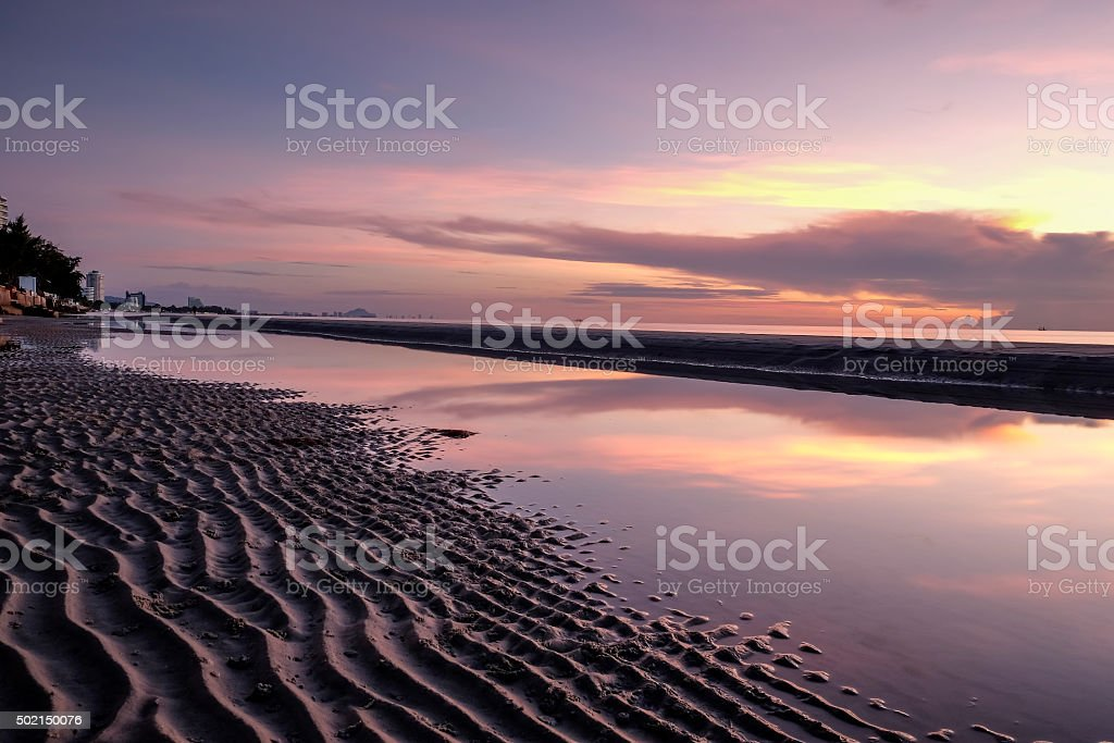 Sea sand stock photo