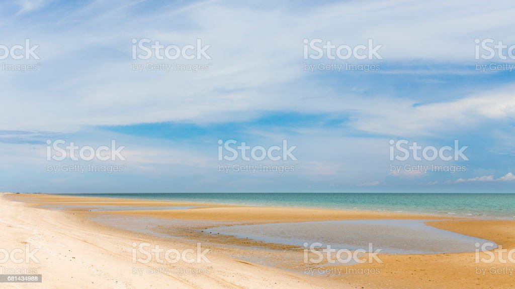 sea sand sky and summer day royalty-free stock photo