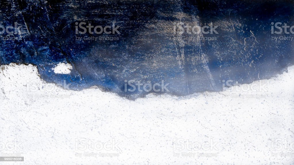 Sea, Satellite - Coast line on blue ocean illusion - foto stock