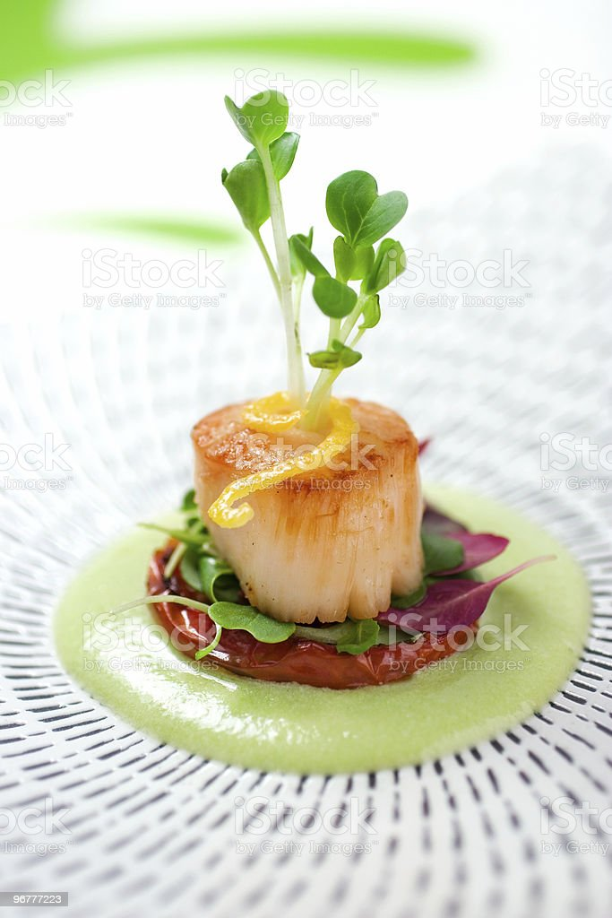 Sea Scallop Stock Photo & More Pictures of Appetizer   iStock