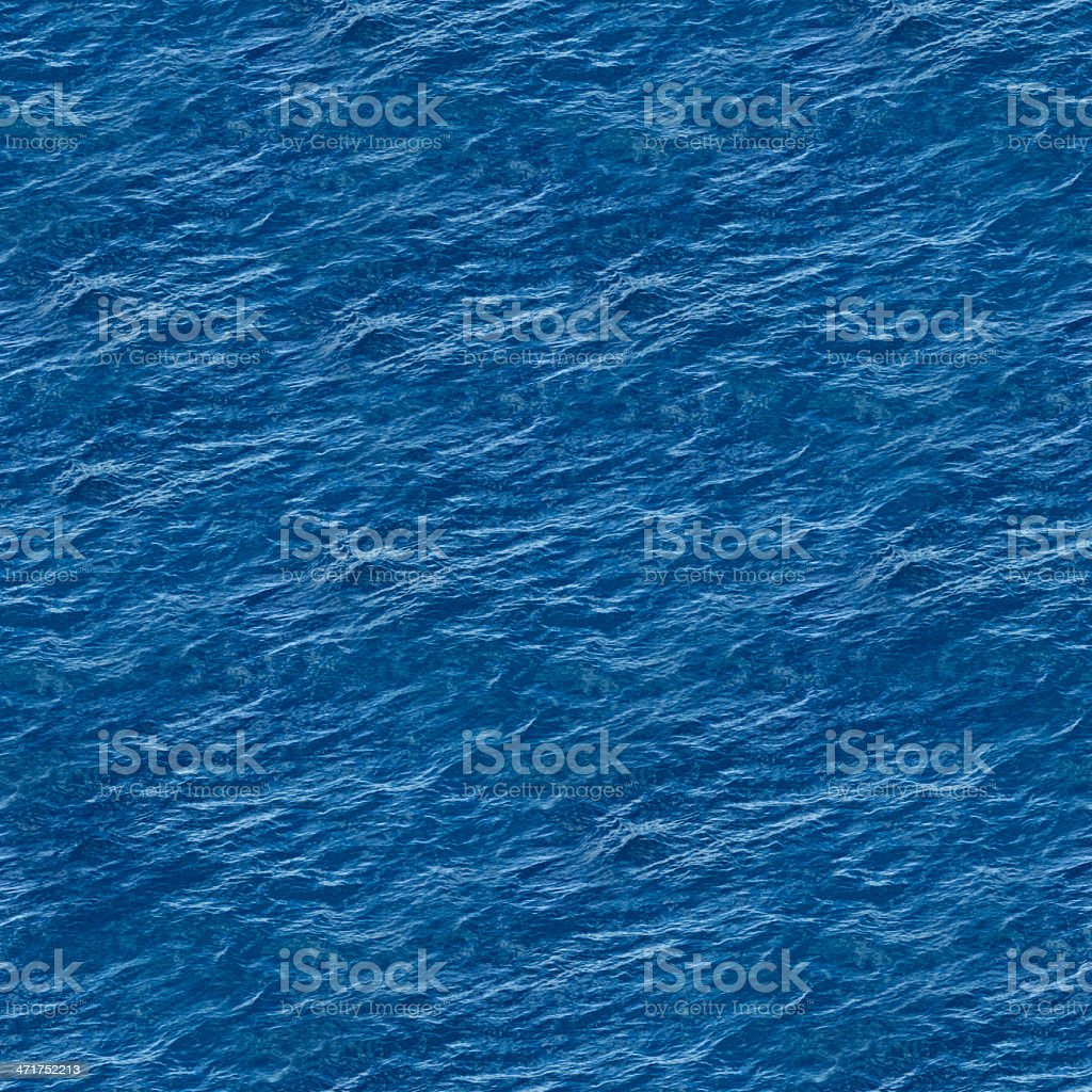 Sea Seamless Texture royalty-free stock photo