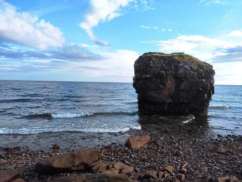 The nature of the seashore