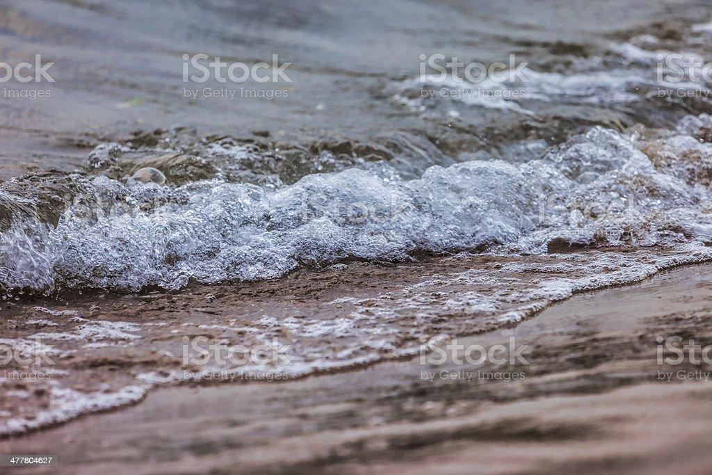 Sea shore royalty-free stock photo