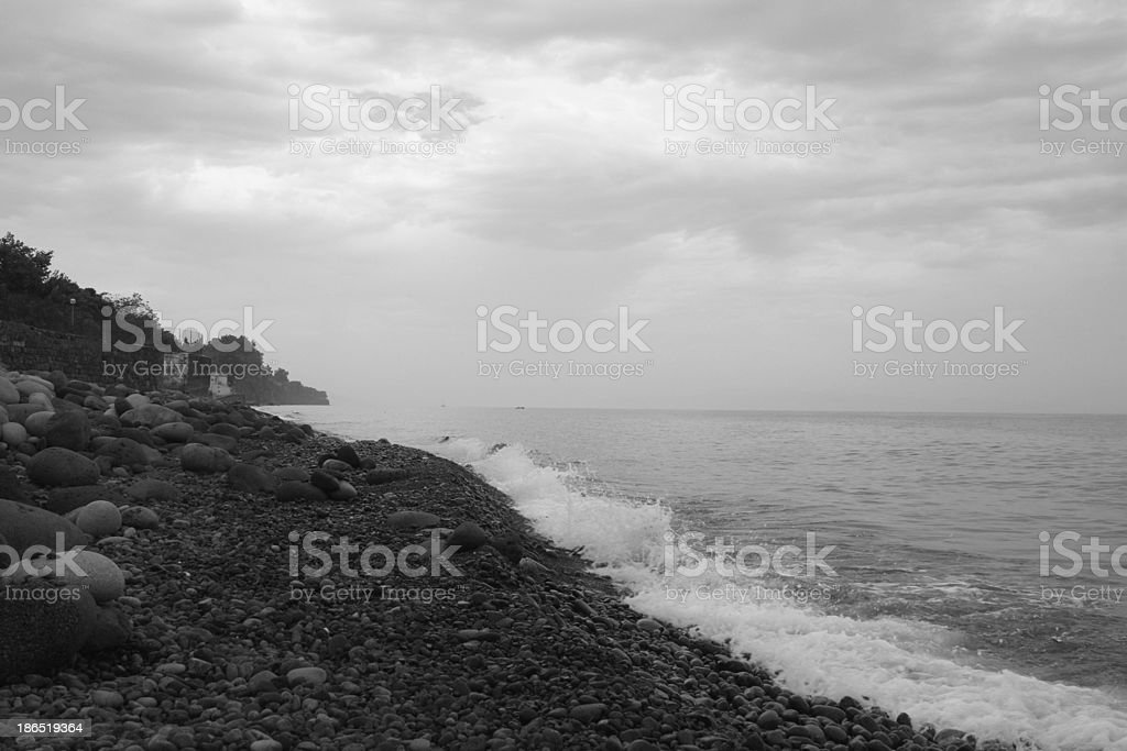 Sea, Sicily royalty-free stock photo