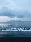 sea side, beach, evening, dawn, beautiful, sky, sands, wave