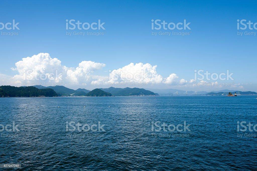 sea, sky stock photo