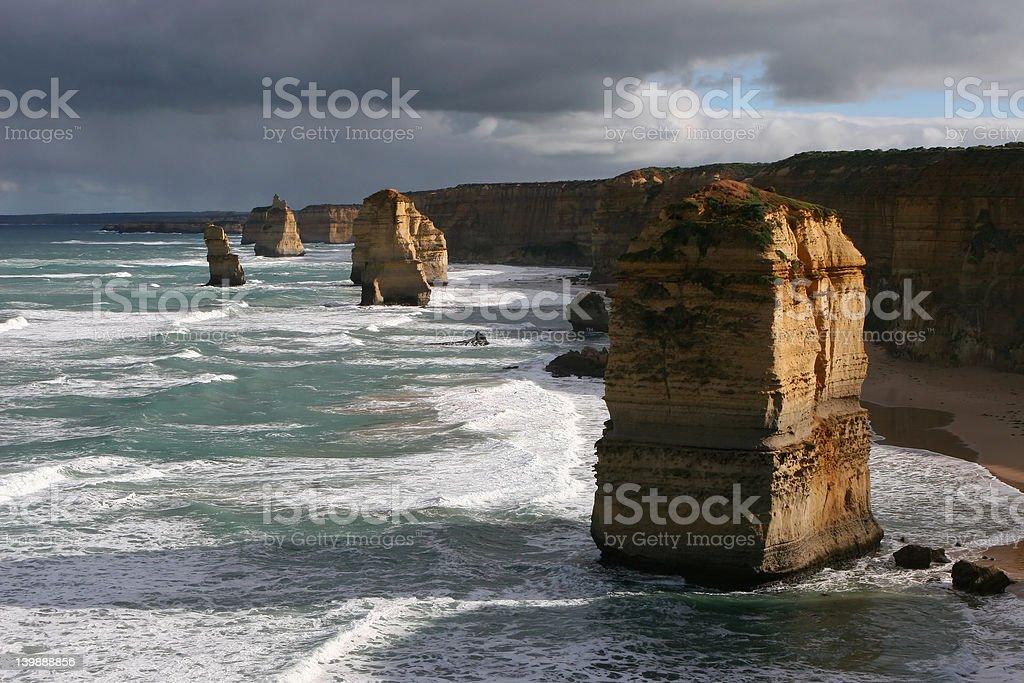 Sea Stacks royalty-free stock photo