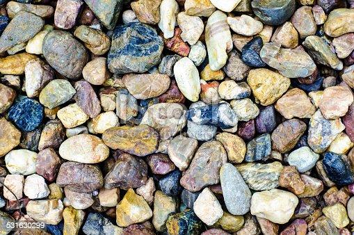istock Sea stones background. 531630299