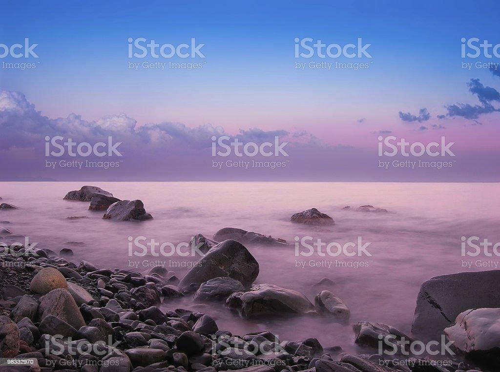 Sea stones royalty-free stock photo