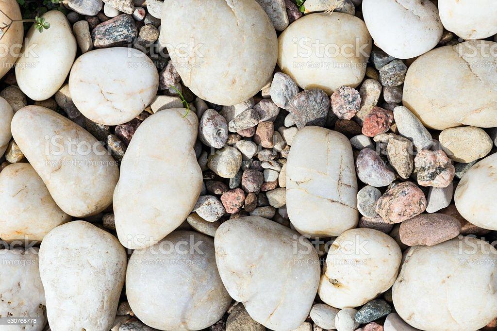 Sea stones textured background stock photo