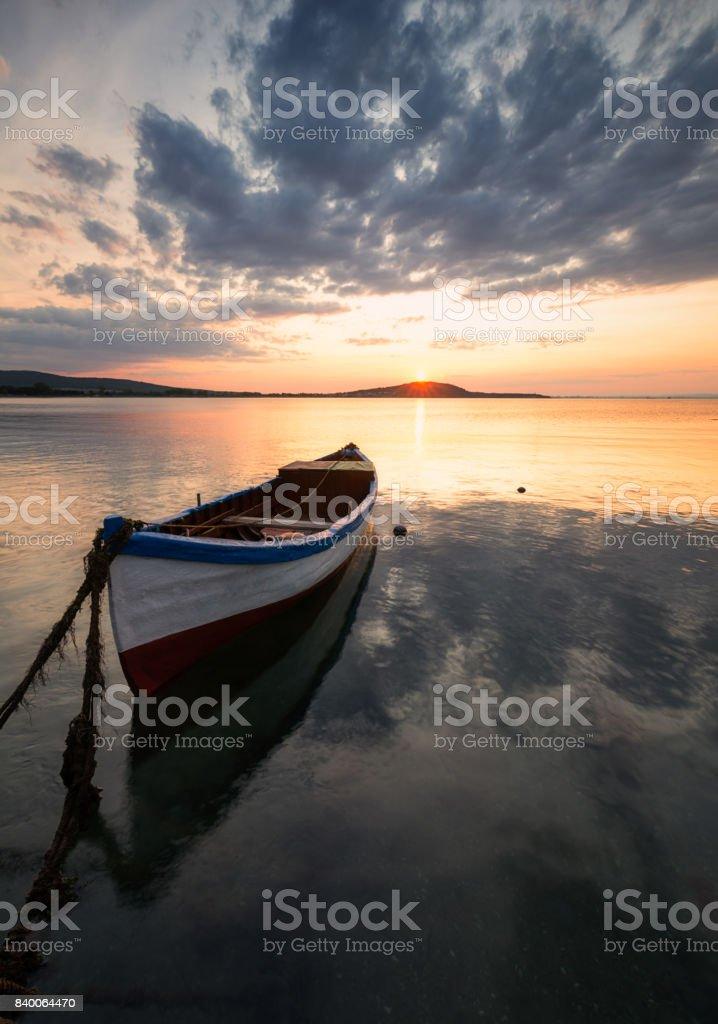 Sea stories stock photo