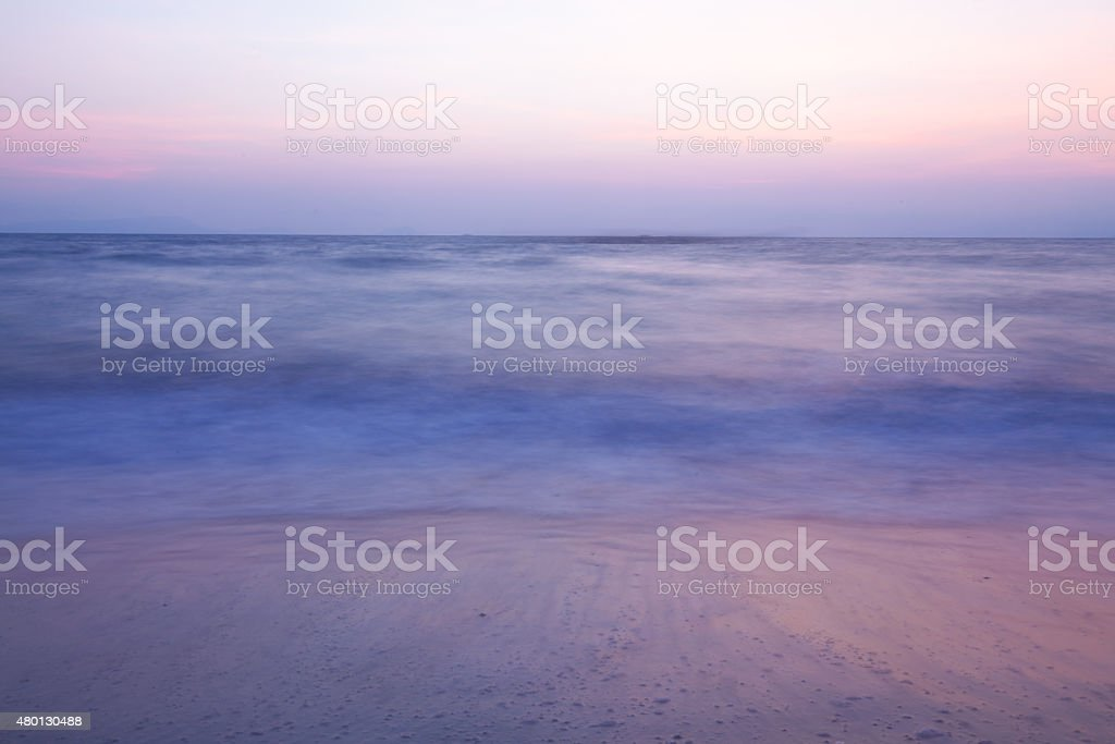 Meer Sonnenuntergang – Foto