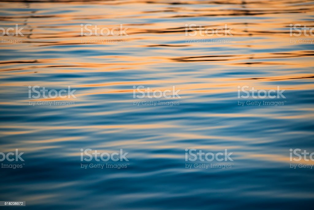 Sea surface background stock photo