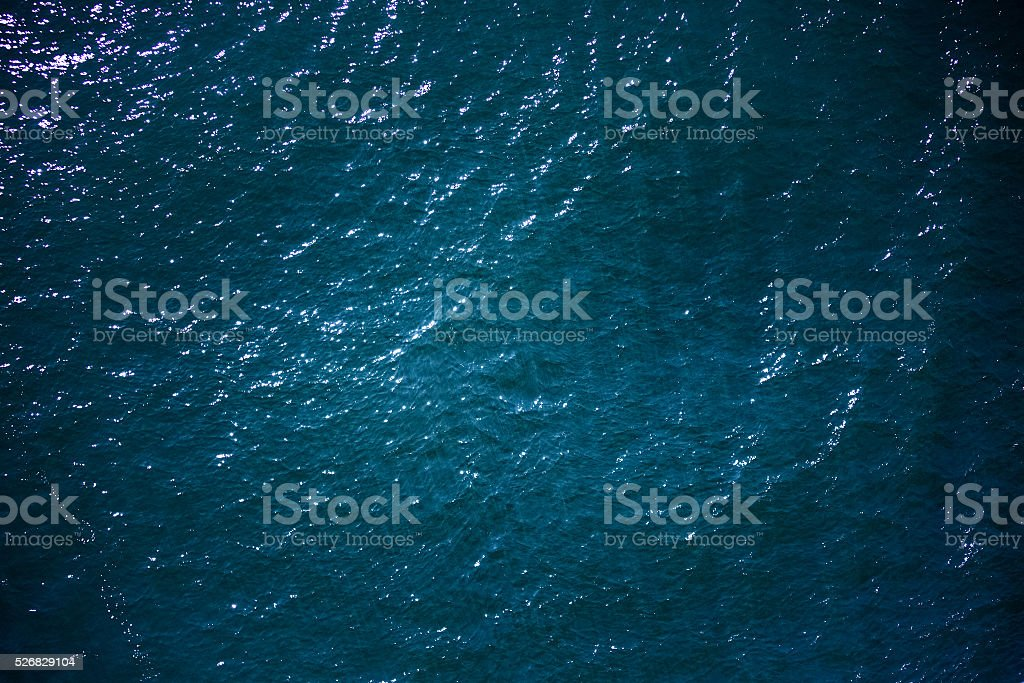 Sea surface stock photo