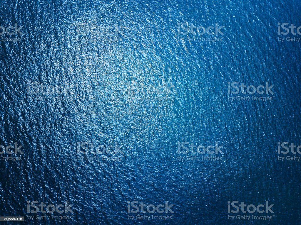Sea surface view stock photo