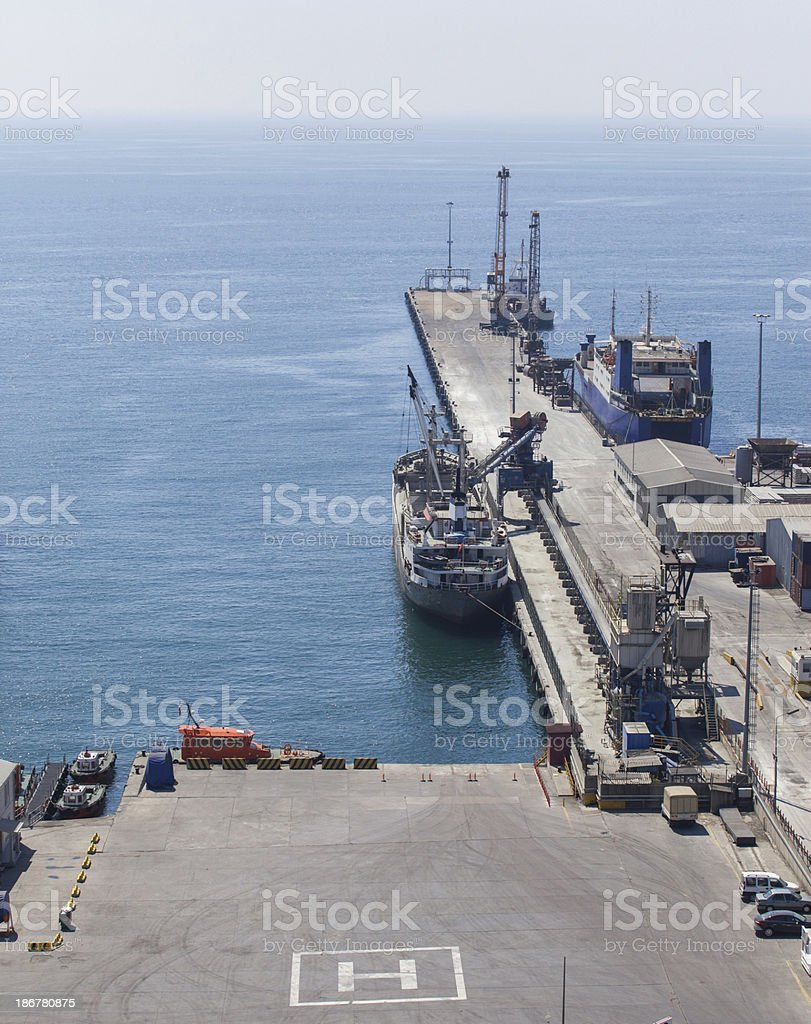 Sea transportation royalty-free stock photo