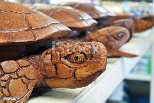 939399010 istock photo Sea turtles wood carving sculptures in Rarotonga market Cook Islands 939840828