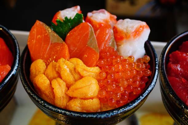 ウニの刺身 - 魚介類 ストックフォトと画像