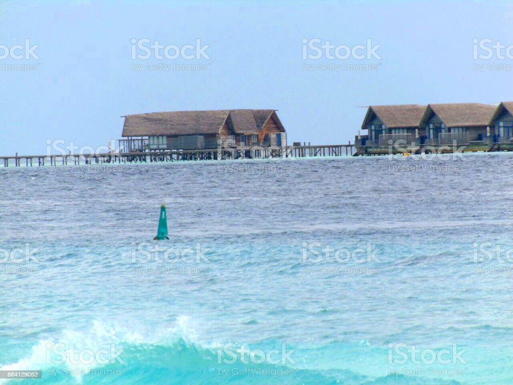 Sea view from boat. royalty-free stock photo