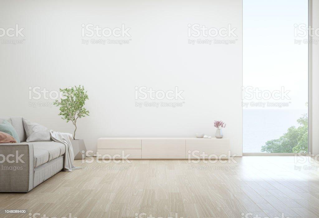 Meer Blick Wohnzimmer Luxus Strand Ferienhaus Mit Tvstander Und