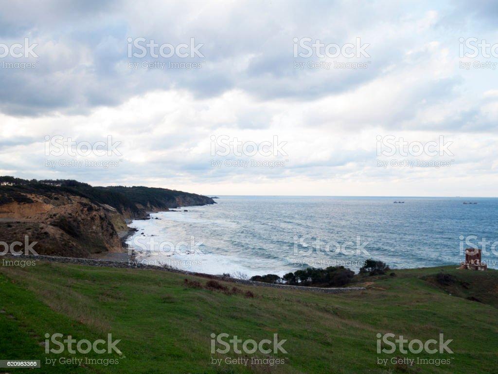 Vista para o mar  foto royalty-free