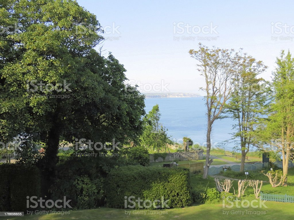 Sea view, Shanklin, Isle of Wight royalty-free stock photo