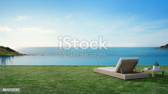3d rendering of tourist resort