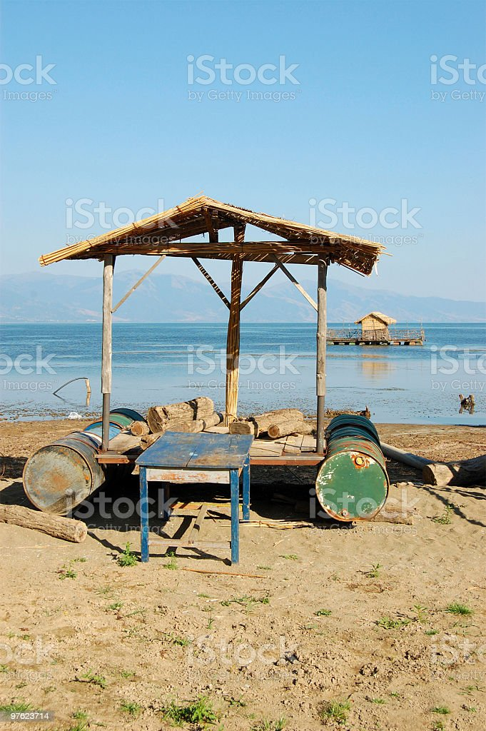 Sea Village royalty-free stock photo