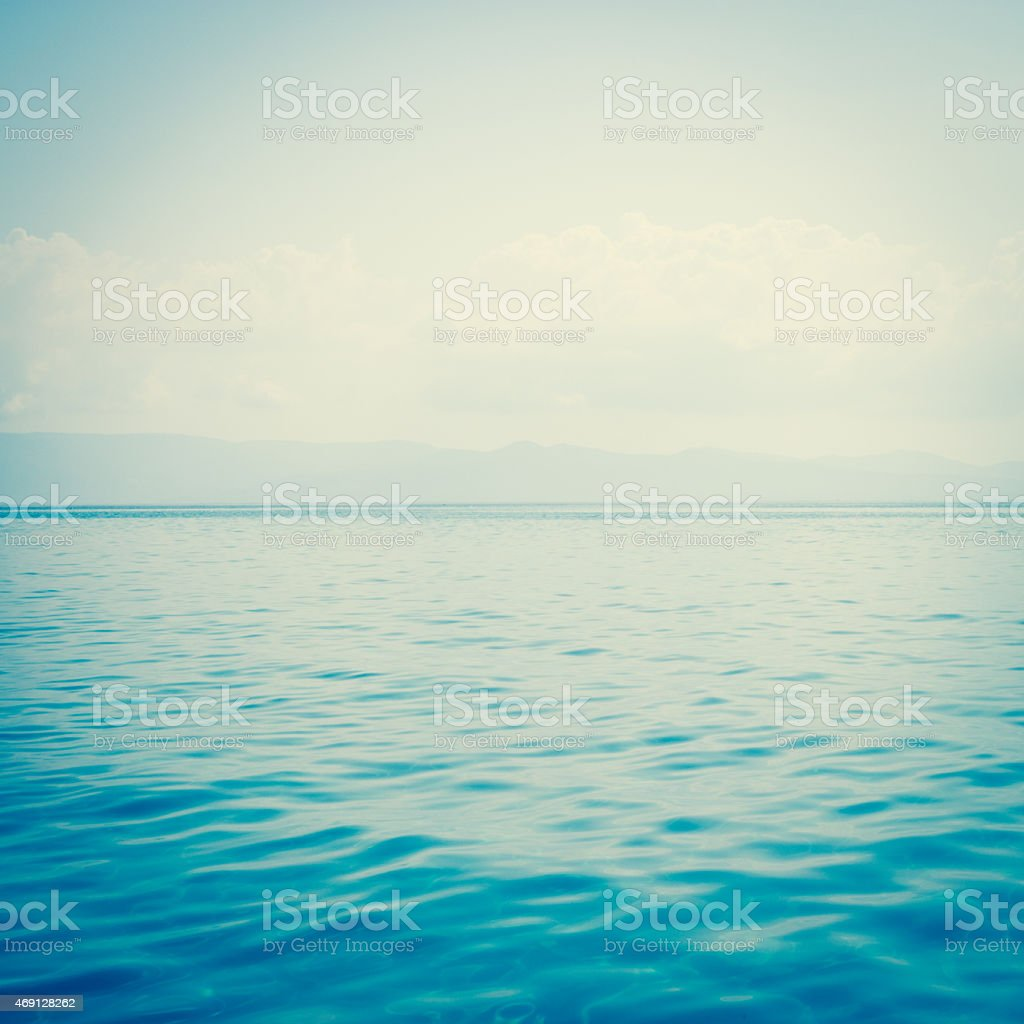 sea water abstract background stock photo