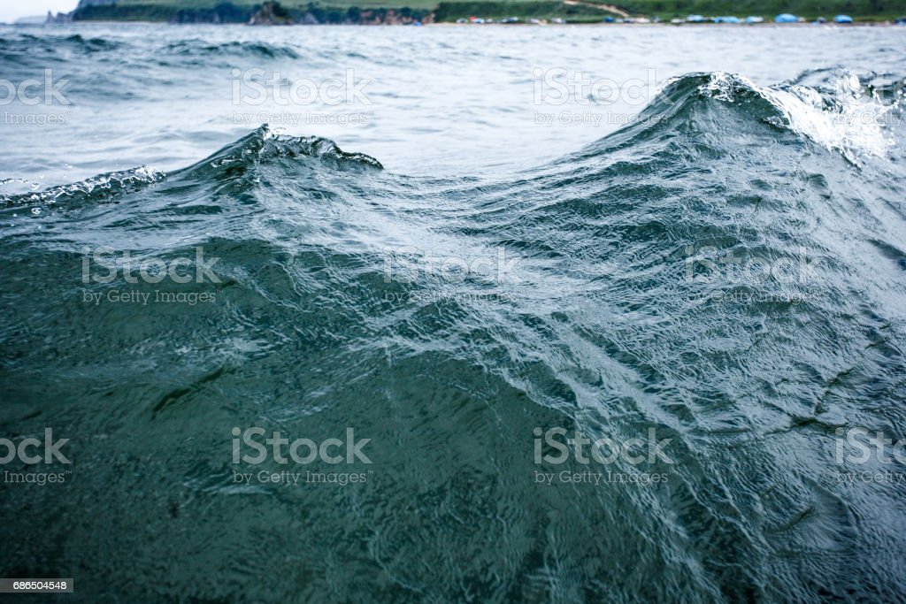 Sea water background foto stock royalty-free