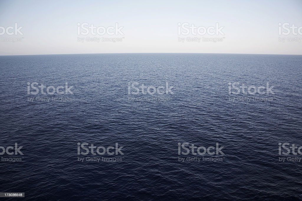 Sea water royalty-free stock photo