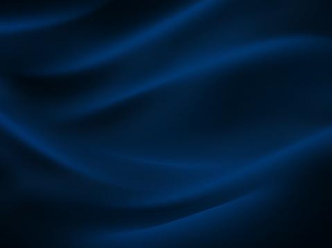 Sea Wave Abstract Navy Blue Black Neon Pattern Moon Light Silk Wavy Dark Texture Night Beach Party Background