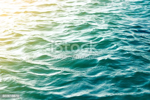 sea wave close up, low angle view vintage style