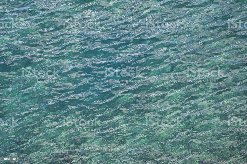 Sea wave pattern. royalty-free stock photo