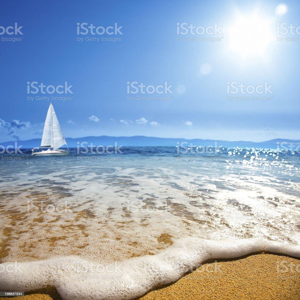 Sea wave Sea wave (Sea coast) Backgrounds Stock Photo