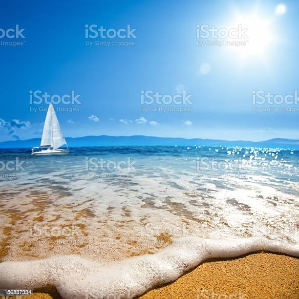 Sea Wave Stock Photo - Download Image Now