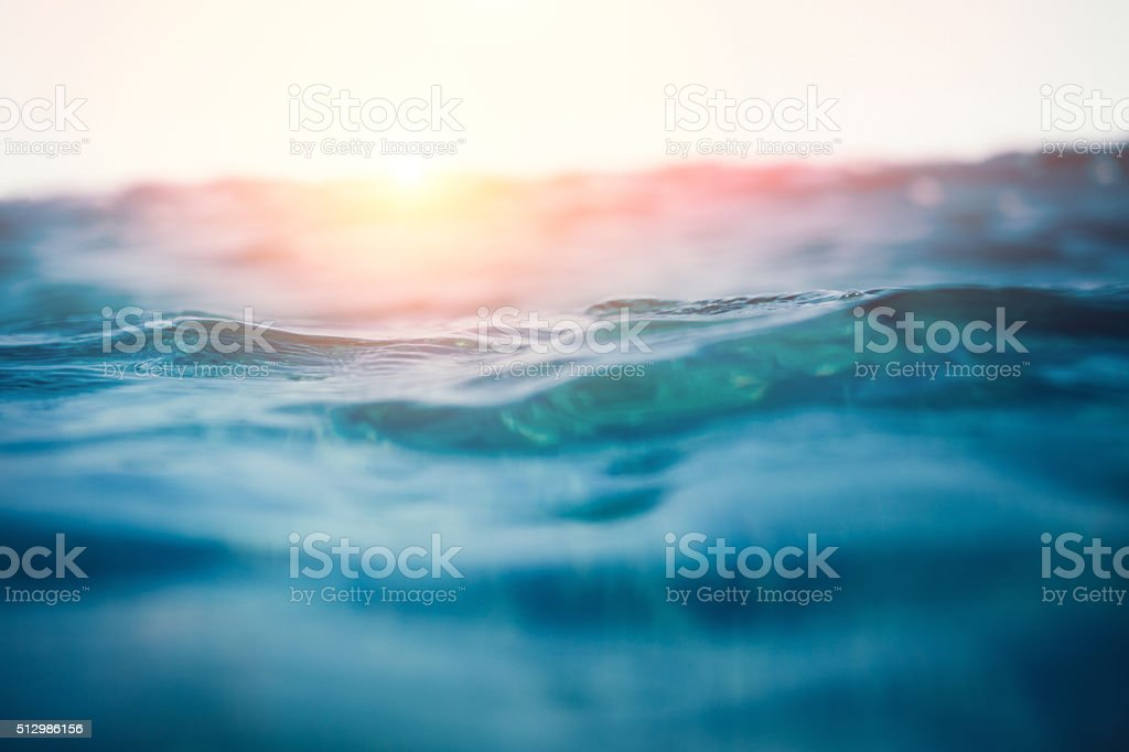 Olas de mar - foto de stock
