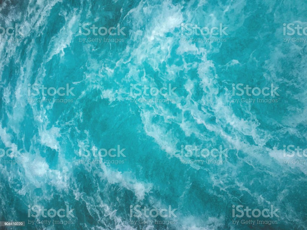 Sea waves textured background stock photo