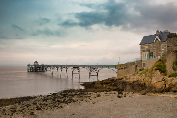 Seabridge in Clevedon Bay Großbritannien – Foto