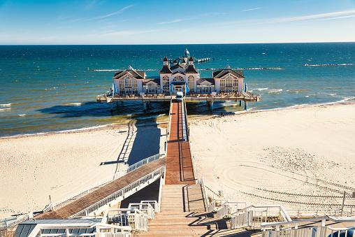 Seabridge in Sellin - Island Rugen, Baltic Sea Germany