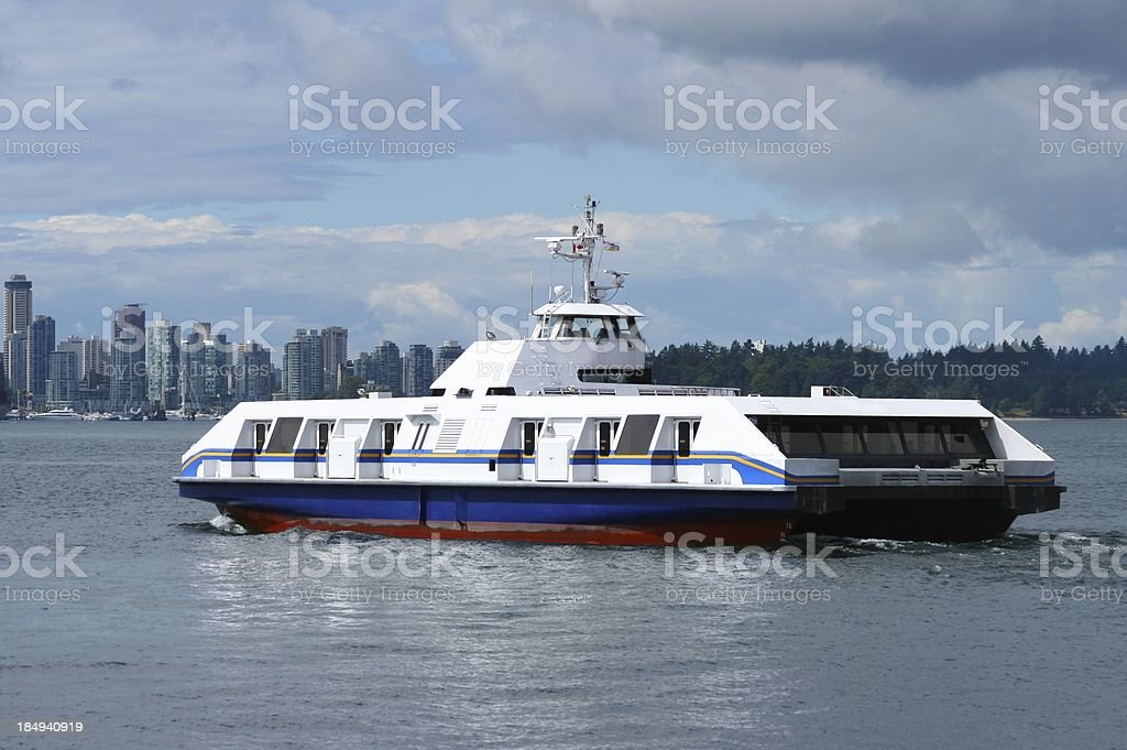 Seabus Of Vancouver stock photo