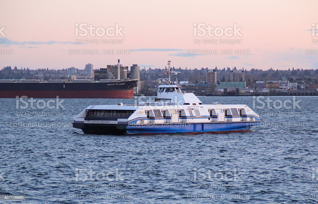 Seabus stock photo