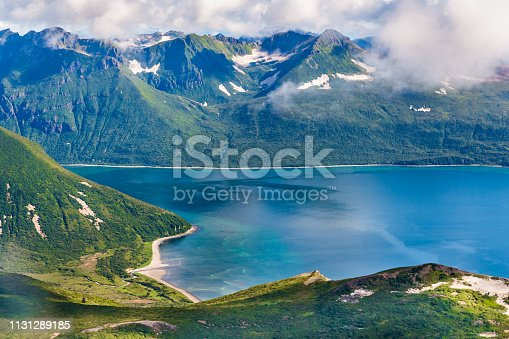 Seacoast of Katmai in Southern Alaska