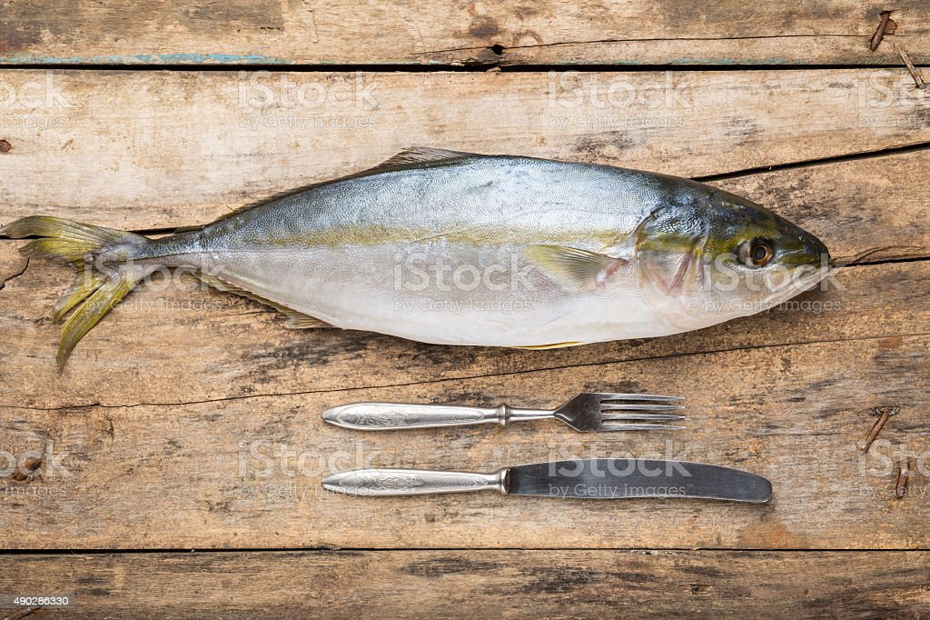 Seafood culinary recipe background stock photo