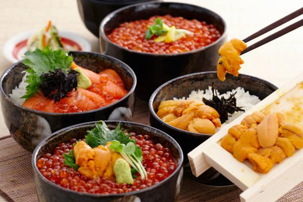 米の魚介類 - 北海道 ストックフォトと画像
