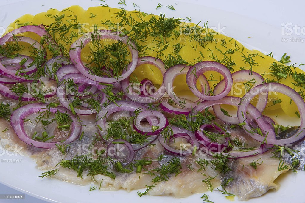 Seafood on white royalty-free stock photo
