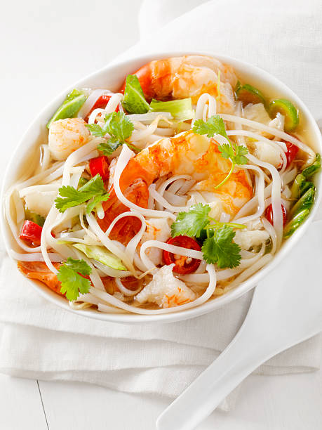 Seafood Pho Stock Photo - Download Image Now - iStock